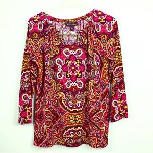 Dana Buchman Patterned Top